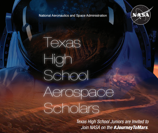 NASA High School Aerospace Scholars Program Poster