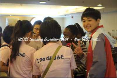 GLOBE Learning Expedition 2014 New Delhi India video