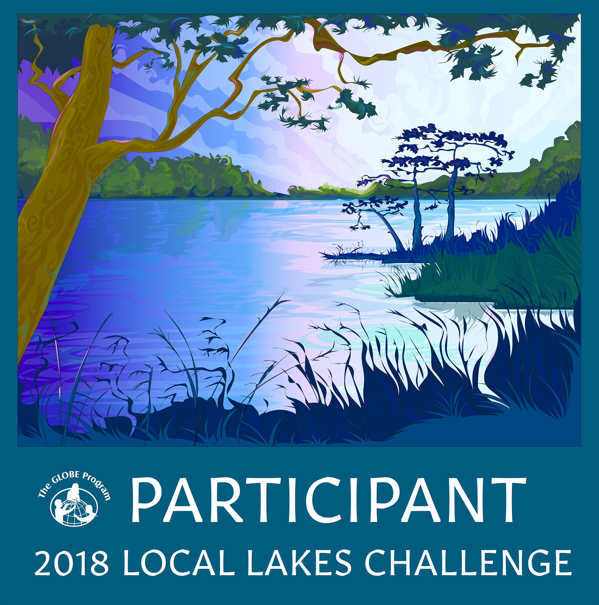 Local Lakes Challenge Participant Badge