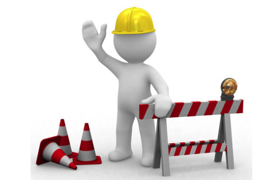 Construction man graphic