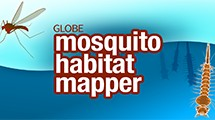 A logo of mosquito habitat mapper.