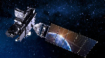 GOES R satellite in space