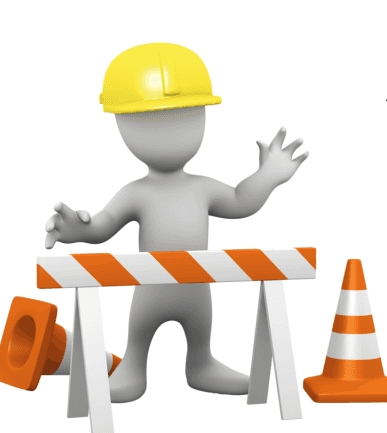 Graphic of a construction worker