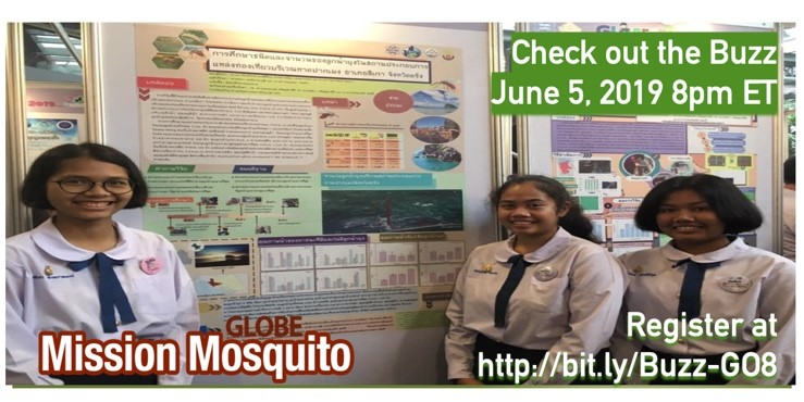 "GLOBE Mission EARTH Webinar ""CheckOut the Buzz"" shareable"