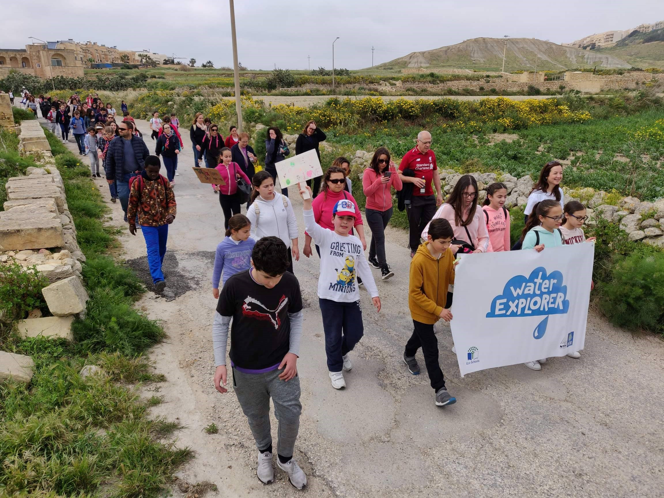 GLOBE Middle School Students (Gozo College Middle School, Malta)