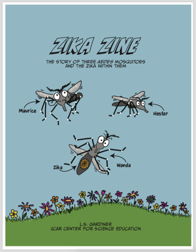 "Cover of ""Zika Zine"""