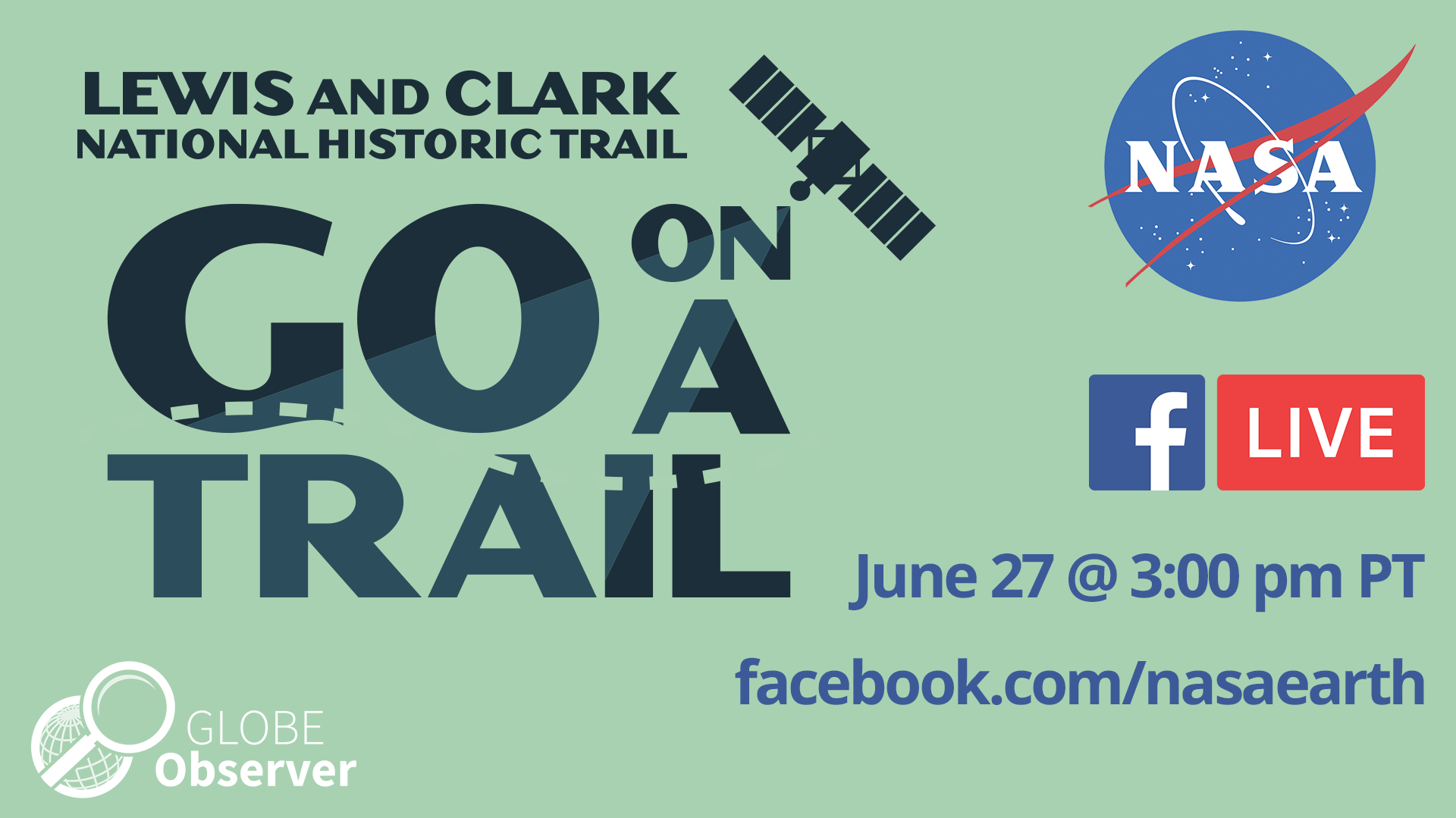 Sharable for the GO on a Trail FB Live.