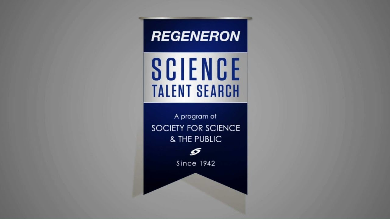 Banner for the Regeneron Science Talent Search