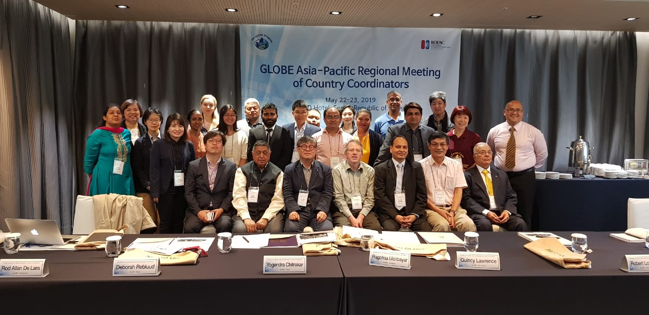 Participants at the 2019 GLOBE Asia and Pacific Regional Meeting.