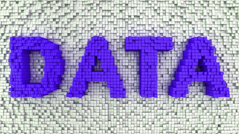"Graphic of the word, ""Data"""