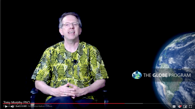 Screen shot from Dr. Tony Murphy's Third Video Address to the Community