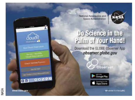 "NASA ""Do Science in the Palm of Your Hand"" Shareable"