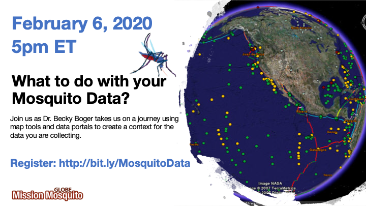 GLOBE Mission Mosquito 06 February Webinar shareable