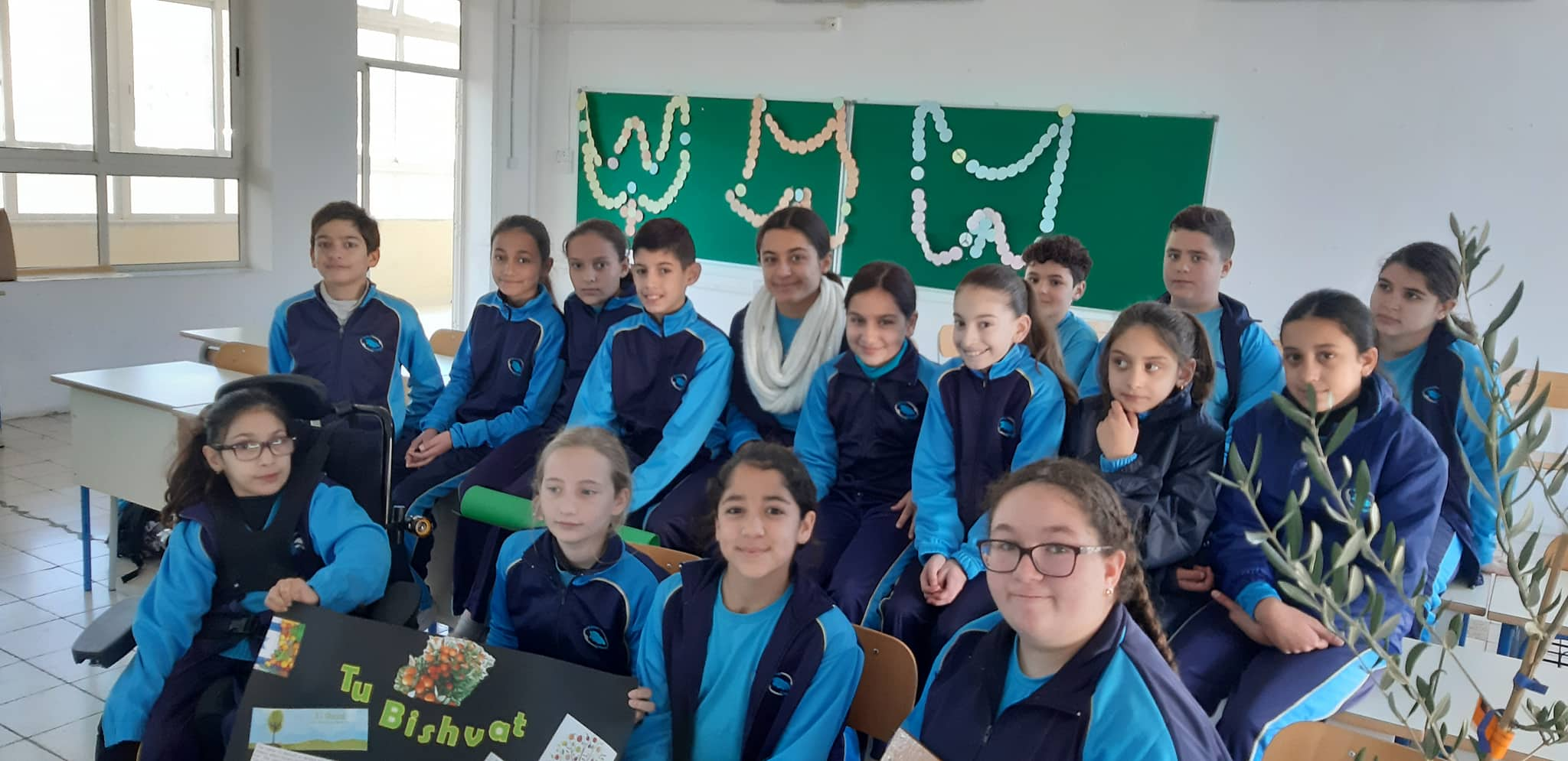 GLOBE students at Gozo College Middle School (Victoria, Gozo, Malta)