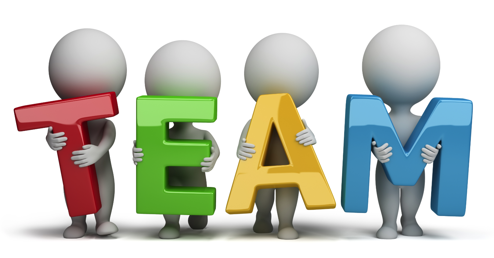 "Graphic that reads, ""TEAM"""