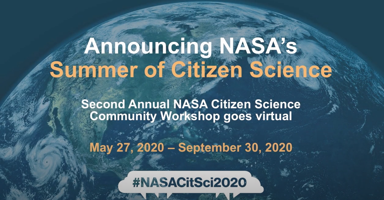 NASA Summer of Citizen Science Shareable