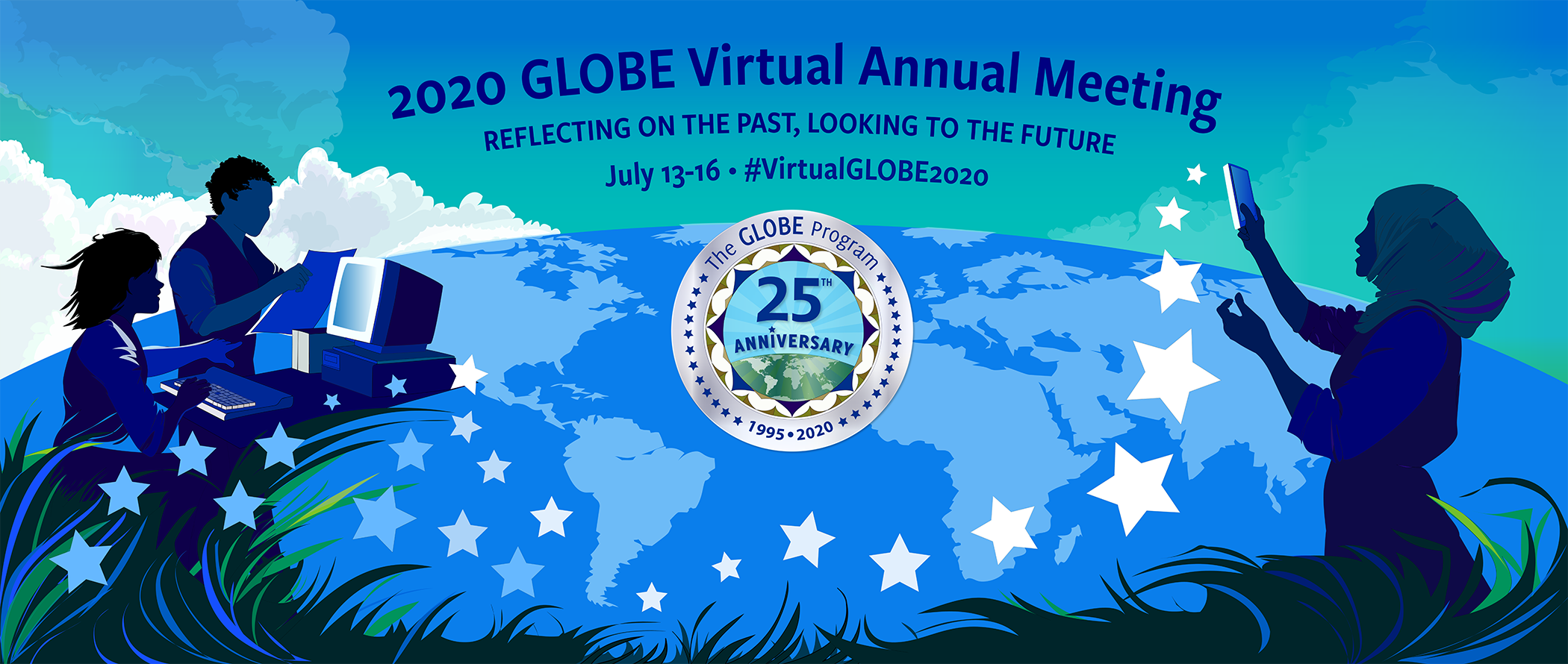 Banner for the 2020 GLOBE Virtual Meeting