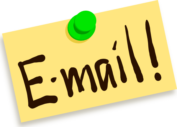 "Graphic that reads, ""Email"""