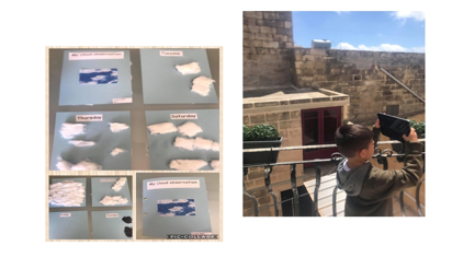 """I have observed the clouds from our balcony for one week. I enjoyed myself taking photos. Moreover, I have learned that there are different types of clouds and I have also learned the days of the week,"" Kayden G."