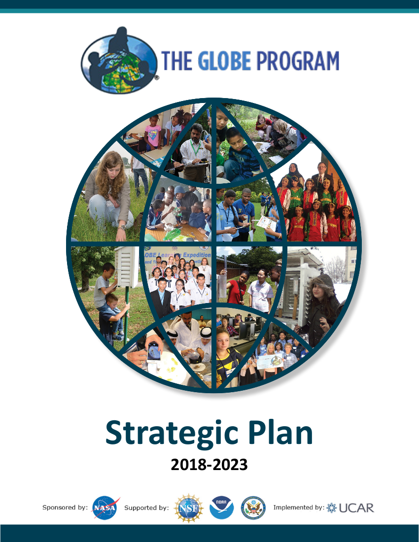 Cover of the GLOBE Strategic Plan
