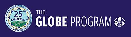 GLOBE 25 year banner