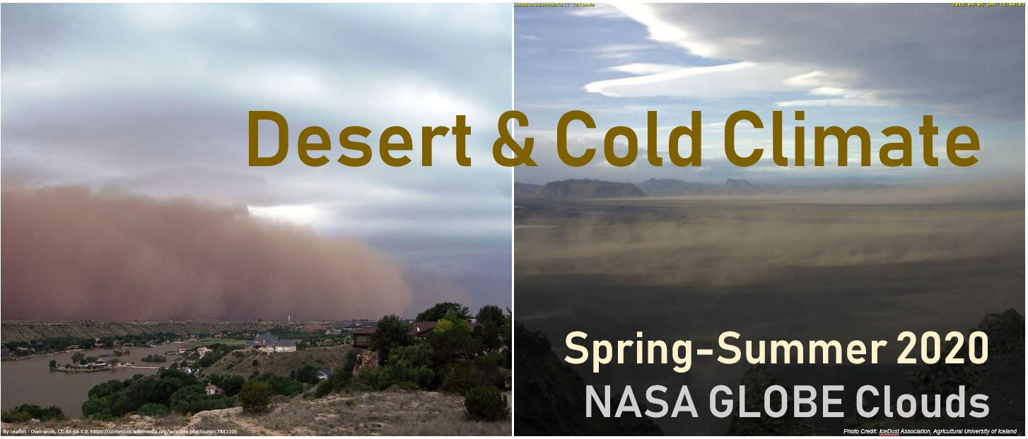 Desert and Cold Climate Dust Image