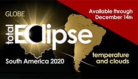 2020 South American Solar Eclipse Graphic