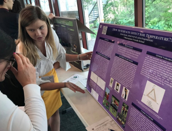 Students Participating in 2017 GLOBE Student Research Symposia