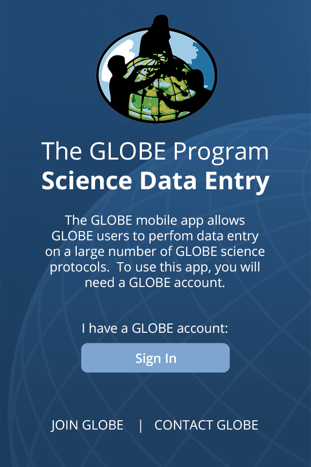 data entry app globe gov