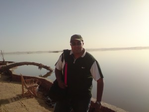 Mohamed at the Siwa Oasis