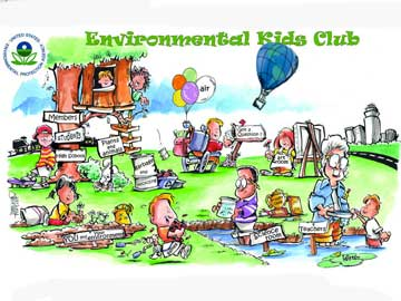 EPA Environmental Kids' Club Screenshot