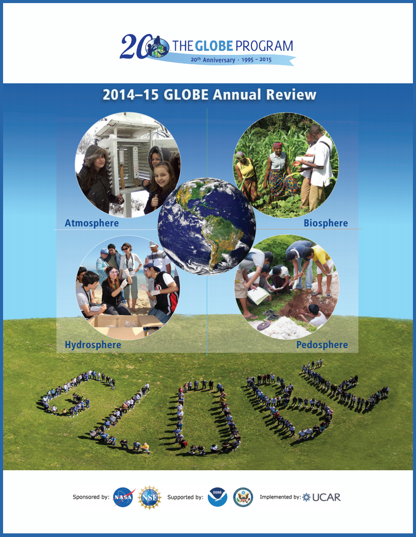 Annual Review 2014-15 cover