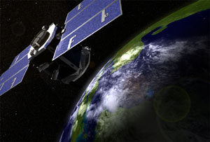 CloudSat satellite