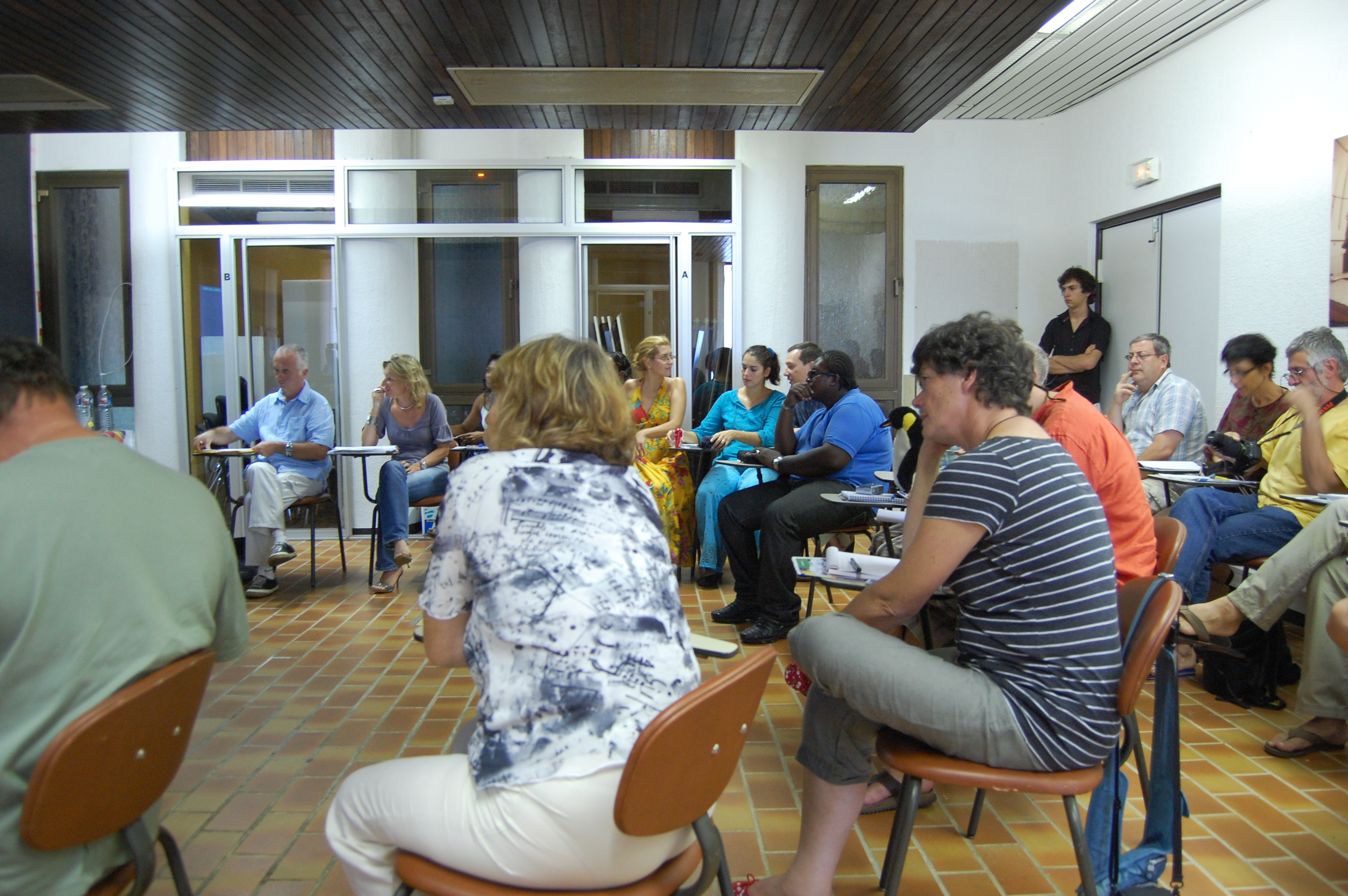 Approximately 30 teachers from France and French Guiana attended the workshop