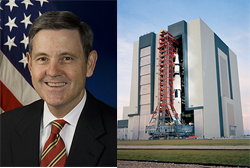 NASA Kennedy Space Center Director Bob Cabana
