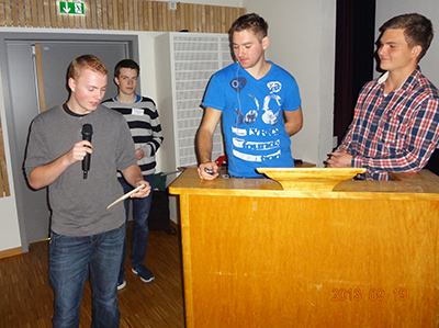 Students present their research at Dalen Workshop