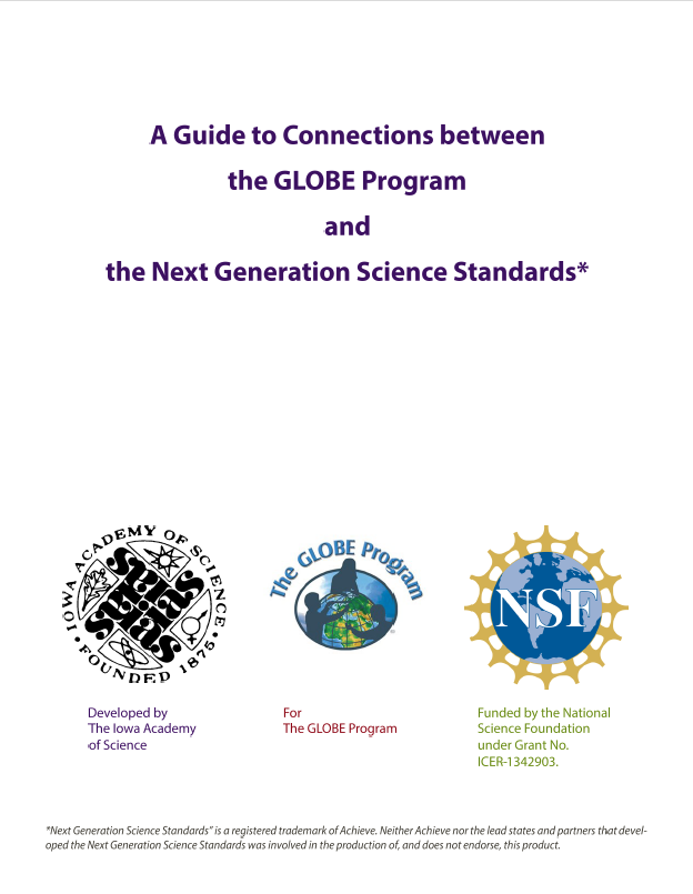 guide to connections - globe and ngss