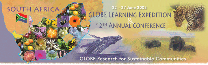 12th Annual Conference and Globe Learning Expedition - South Africa banner.
